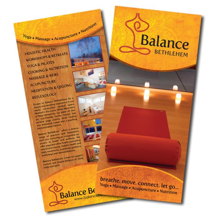 Yoga Rack Card