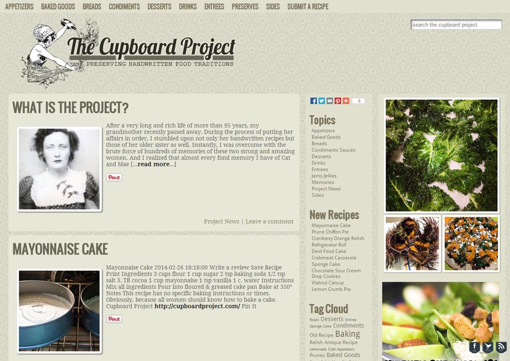 Cupboard Project
