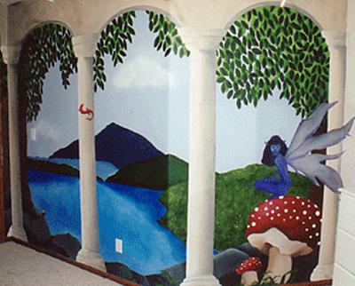 Fairyland Mural