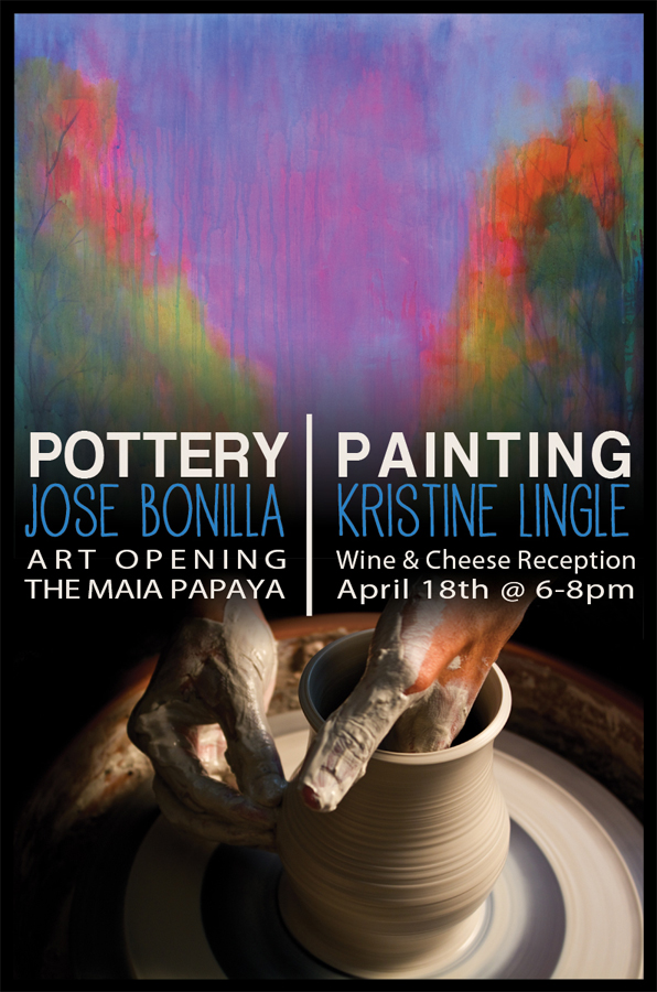 pottery and painting poster larcom studios
