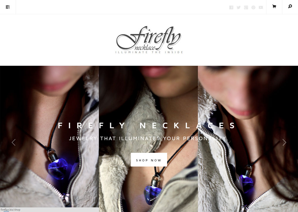 Firefly Necklaces