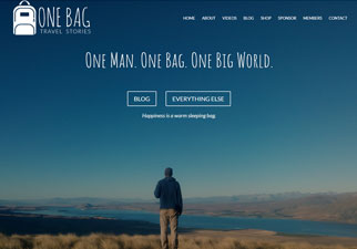 One Bag Travel Stories